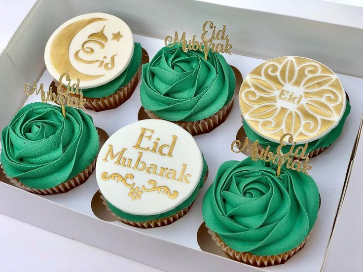 Cupcakes idea for Eid