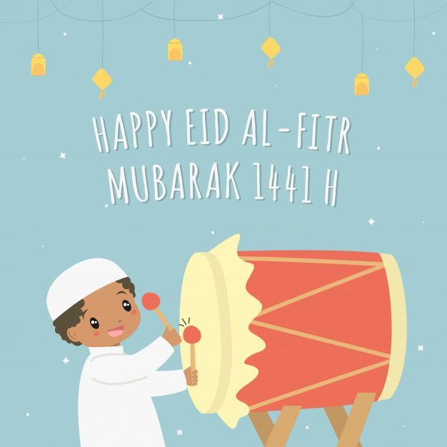 Happy Eid Al-fitr 1441  H