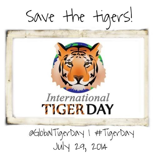 International Tiger Day : Save the tigers